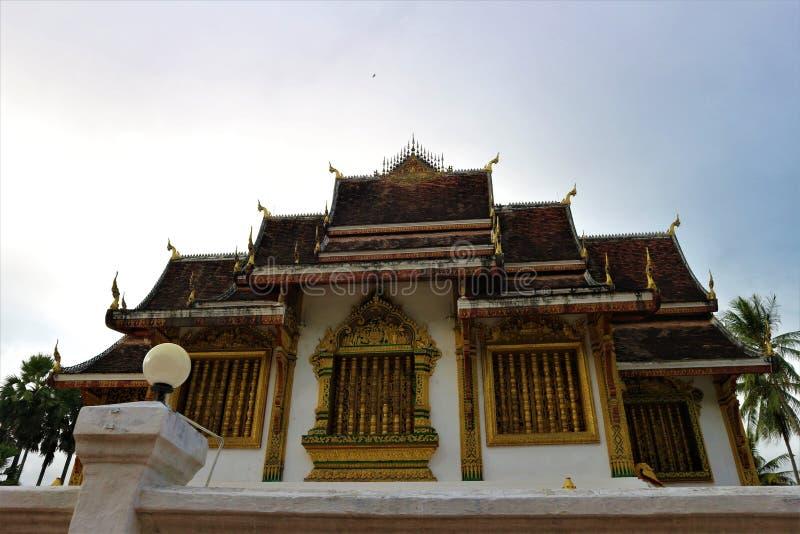 Wat Mai Suwannaphumaham Temple, fotografie stock libere da diritti