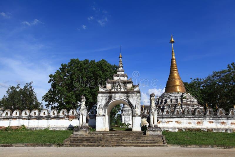 Wat Mon Jum Sin Lampang fotografia stock