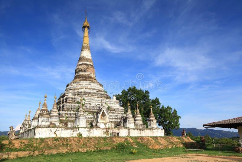Wat Mon Jum Sin Lampang fotografia stock libera da diritti