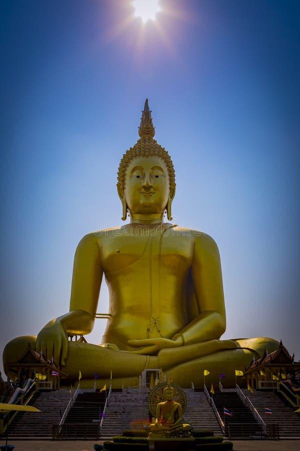 Wat Muang lizenzfreie stockfotos