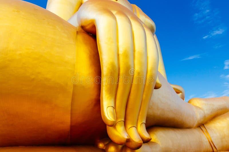 Wat Muang Temple, Angthong imagem de stock