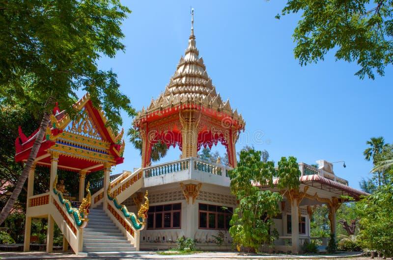 Wat Na Phra Lan, lan del Na di Laem, Koh Samui, Tailandia immagine stock
