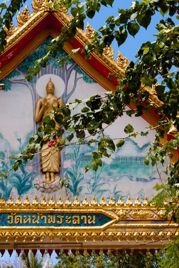 Wat Na Phra Lan, lan del Na di Laem, Koh Samui, Tailandia immagini stock libere da diritti