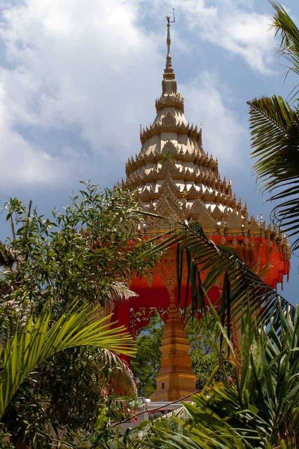Wat Na Phra Lan, lan del Na di Laem, Samui, Tailandia immagini stock libere da diritti