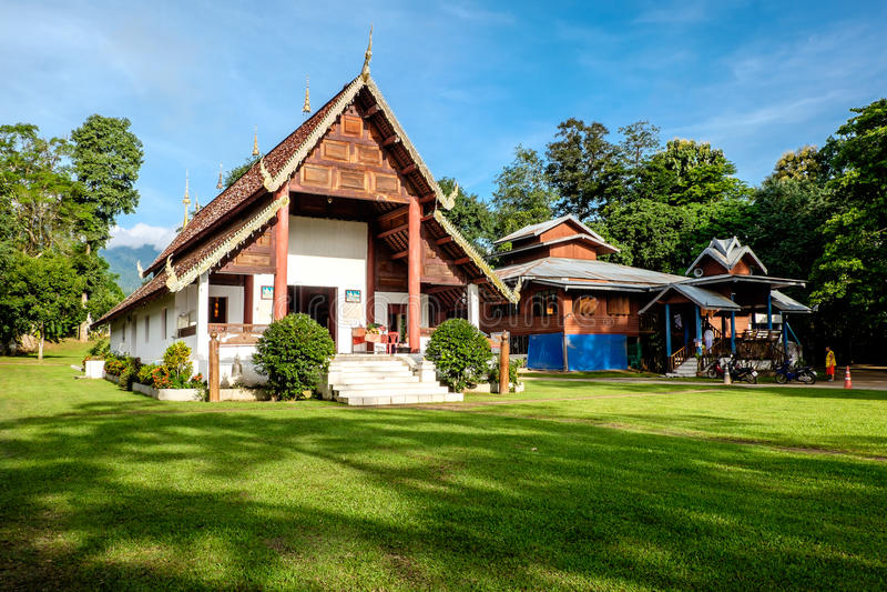 Wat Nam Hu, Pai, fotos de stock