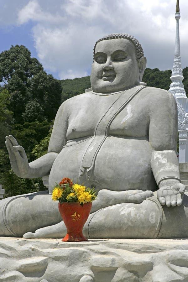 Wat Nam Noi Nai在Hatyai,泰国 库存照片