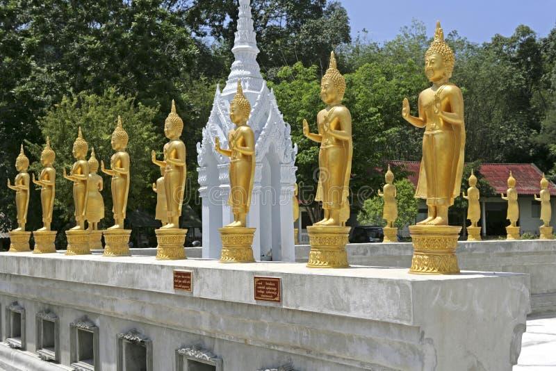 Wat Nam Noi Nai i Hatyai, Thailand fotografering för bildbyråer