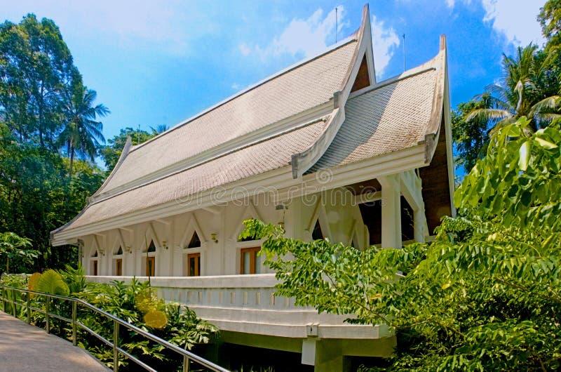 Wat Nam Tok Hin Lad, Koh Samui, Tailandia immagine stock