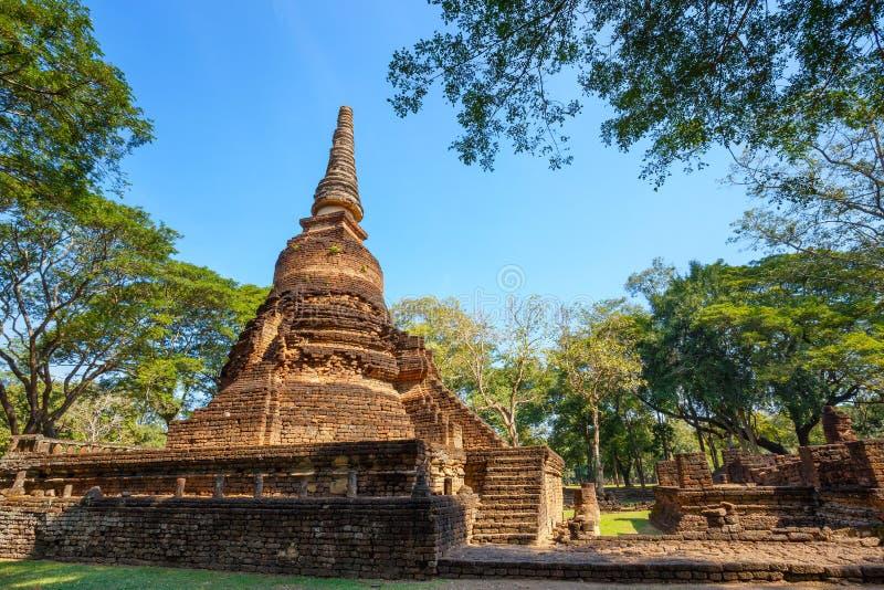 Wat Nang Phaya Temple au parc historique de SI Satchanalai dans Sukhothai, Thaïlande photos libres de droits
