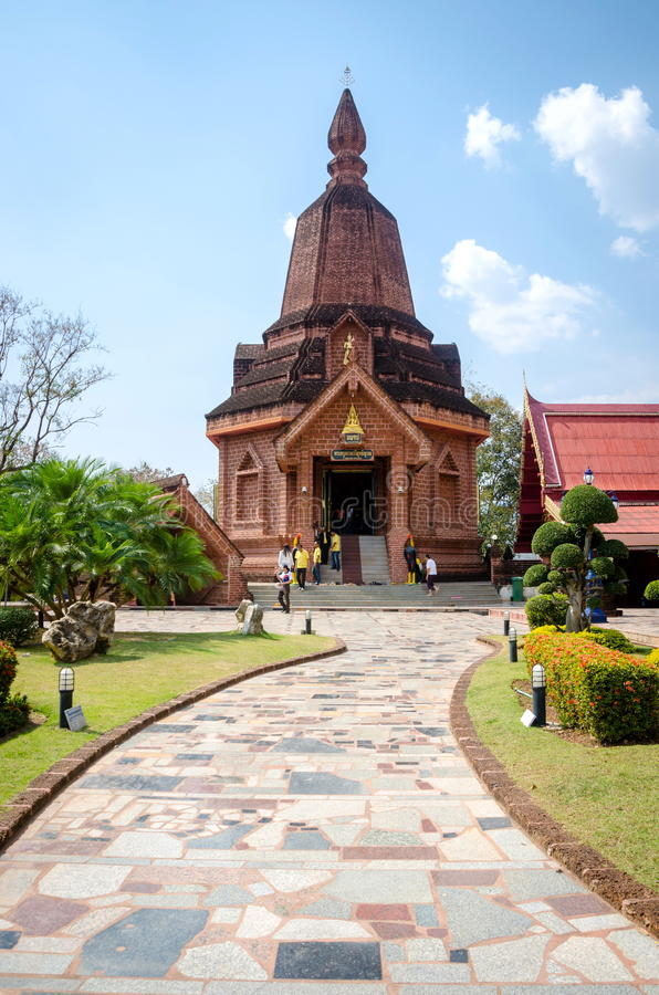 WAT NEARAMIT VIPASSANA, Loei, Таиланд стоковые фотографии rf