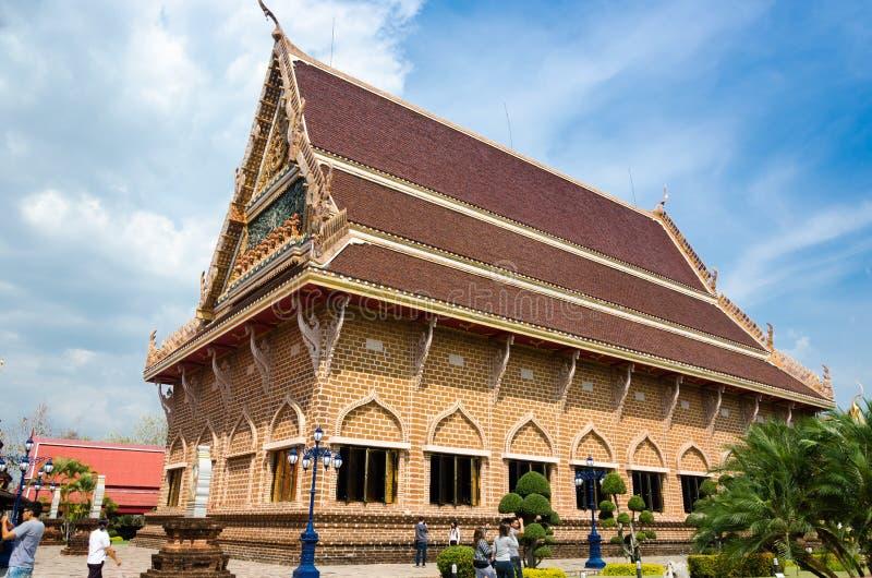 WAT NEARAMIT VIPASSANA, Loei, Таиланд стоковая фотография