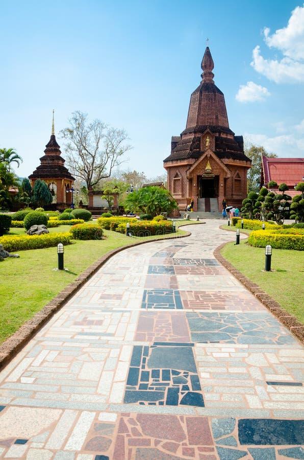 WAT NEARAMIT VIPASSANA, Loei, Thaïlande photographie stock