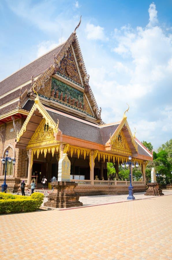 WAT NEARAMIT VIPASSANA, Loei, Thaïlande image libre de droits
