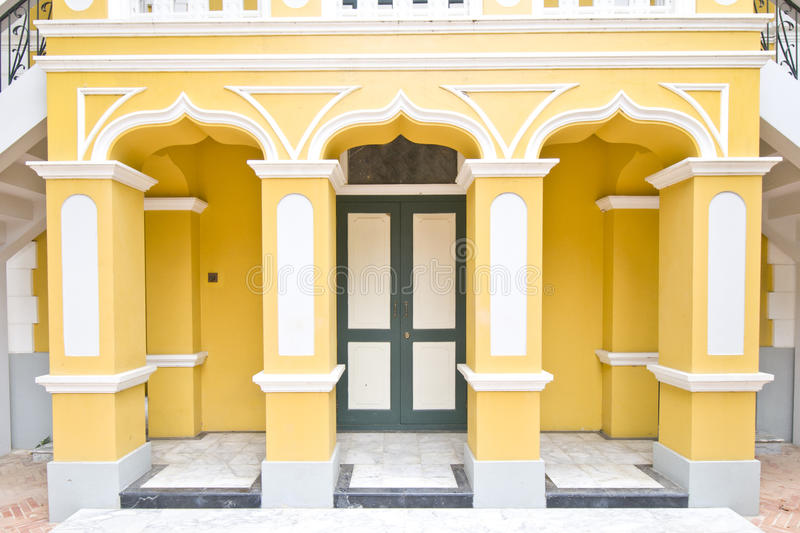 Download Wat Nivet Portuguese style stock image. Image of architecture - 25871367