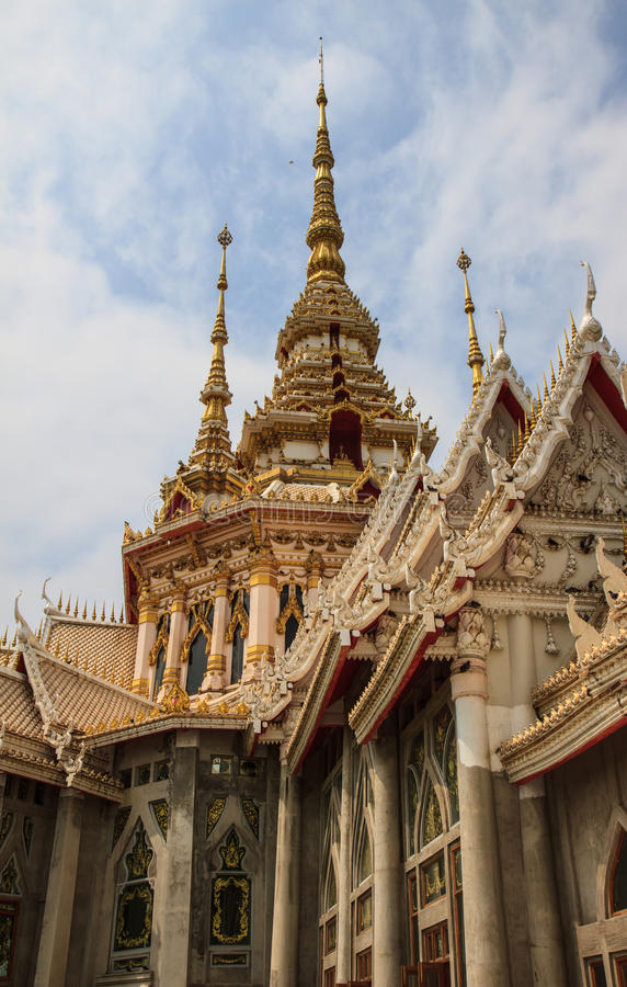 Wat None Kum, Nakhon Ratchasima fotos de archivo