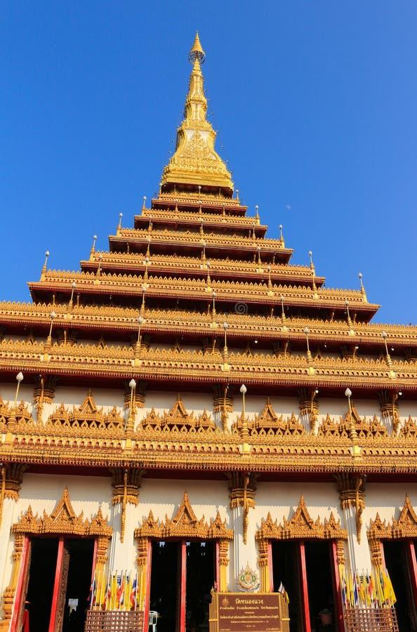 Wat Nong Waeng en Khonkaen imágenes de archivo libres de regalías
