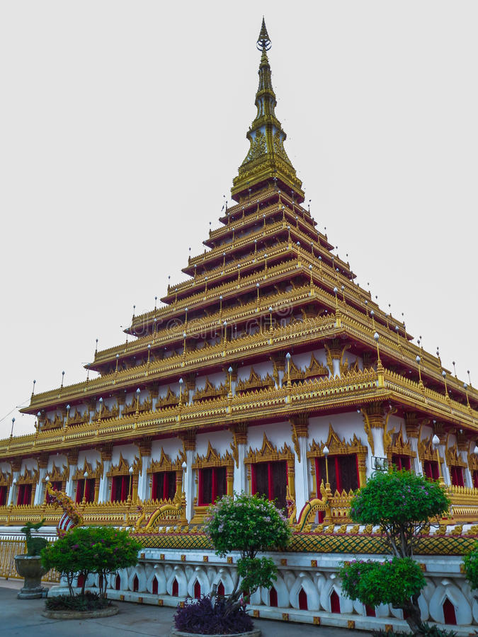 Wat Nong Waeng Khonkaen image stock