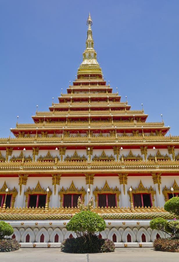 Wat Nong Waeng Khonkaen Tailandia fotos de archivo