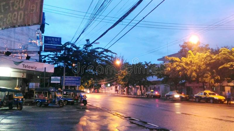 Wat Nong Waeng Khonkaen Thaïlande photographie stock libre de droits