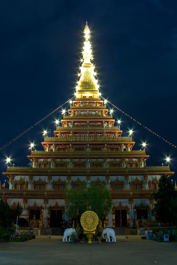 Wat Nong Wang royalty-vrije stock foto's