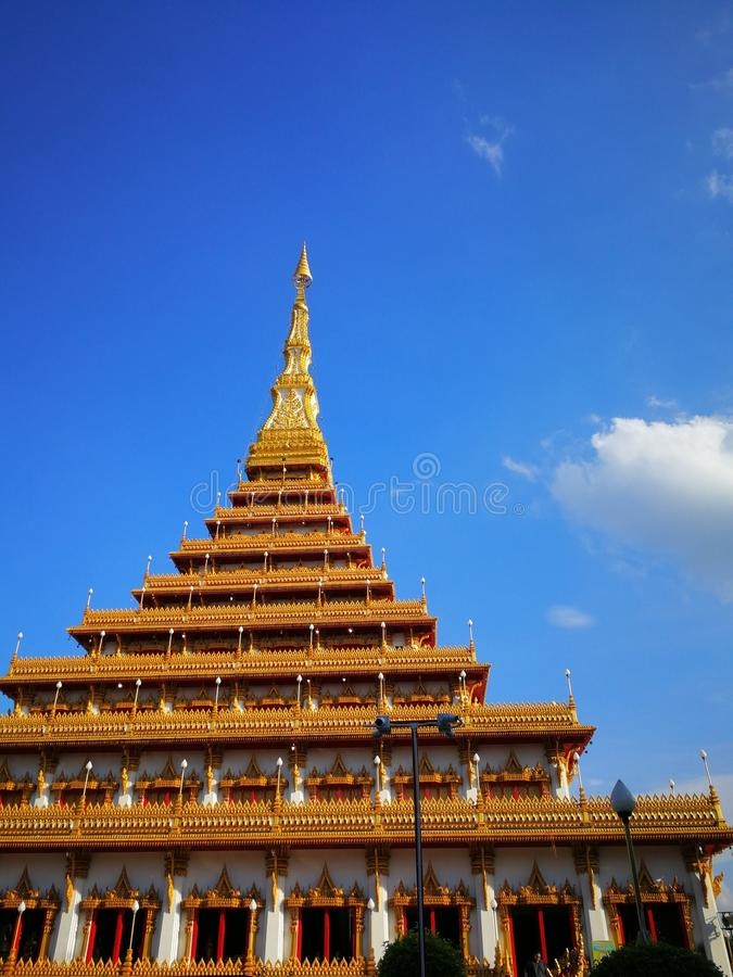 Wat Nong Wang, Khon Kaen, Thailand royalty free stock images