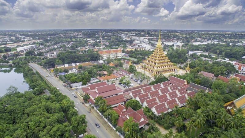 Wat Nong Wang temple, Khonkaen Thailand stock photo