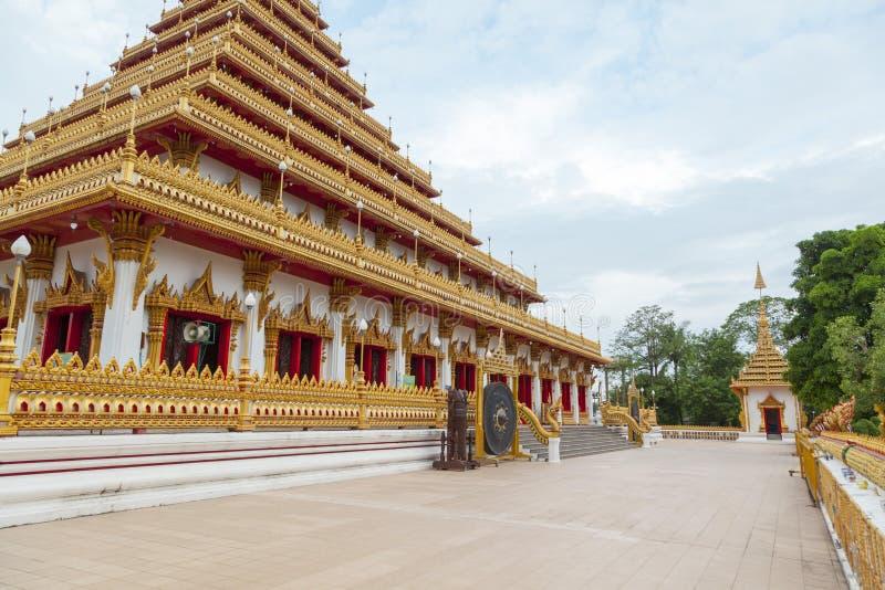 Wat Nongwang σε Khon Kaen, Ταϊλάνδη στοκ φωτογραφίες