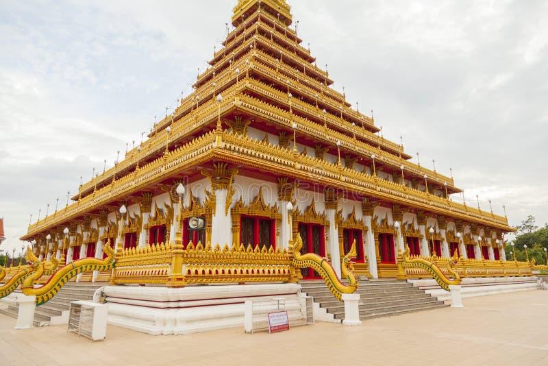 Wat Nongwang w Khon Kaen, Tajlandia fotografia stock