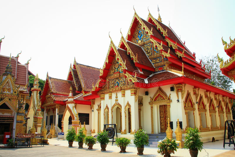 Wat Okat Si Bua Ban images libres de droits