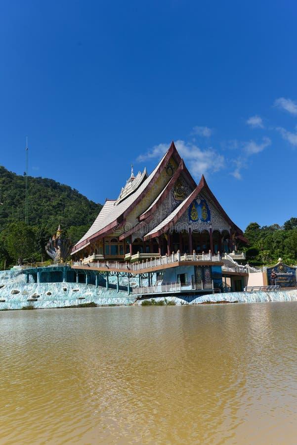 Wat Pa Huay Lad tempel arkivfoto