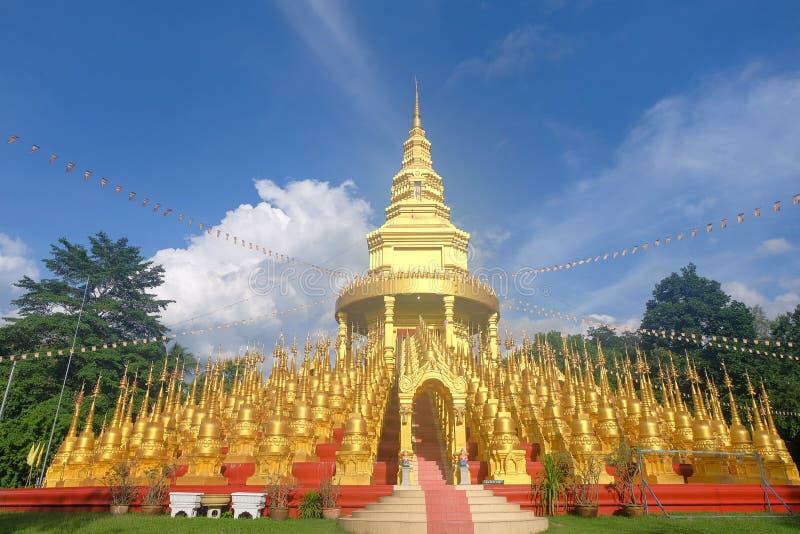 Wat Pa Sawang Boon, het district van Kaeng Khoi in Saraburi-provincie Thailand royalty-vrije stock afbeelding