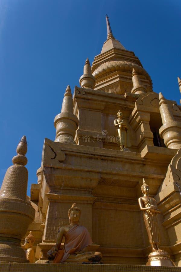 Wat Pagoda Laem Sor, Koh Samui, Tailandia fotografia stock