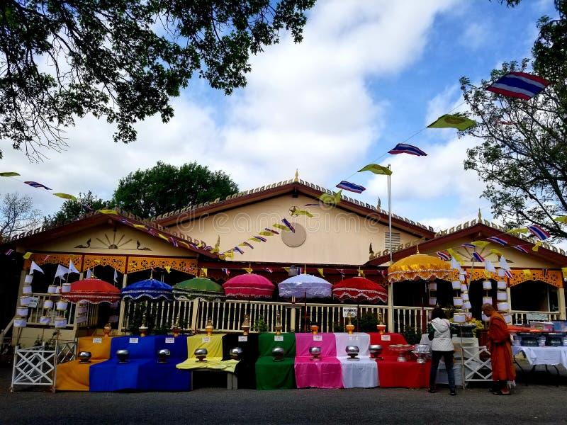 Wat Pah Samarkki di Killeen immagine stock