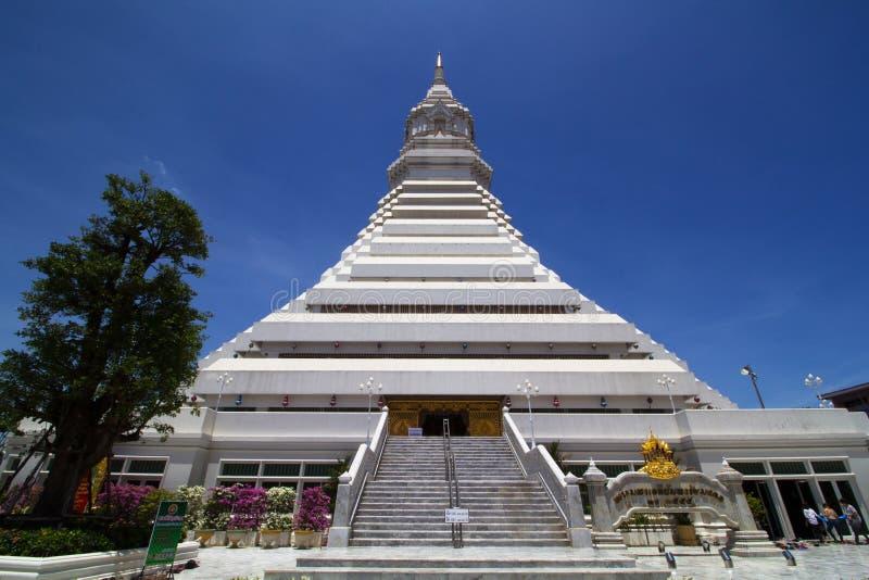 Wat Paknam Bangkok Tailandia fotografie stock libere da diritti