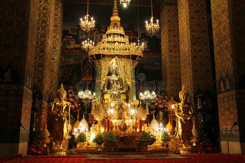 Wat Pathum Wanaram royaltyfri fotografi