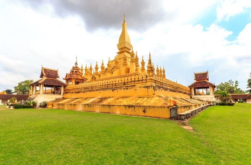 wat Pha che Luang fotografia stock libera da diritti