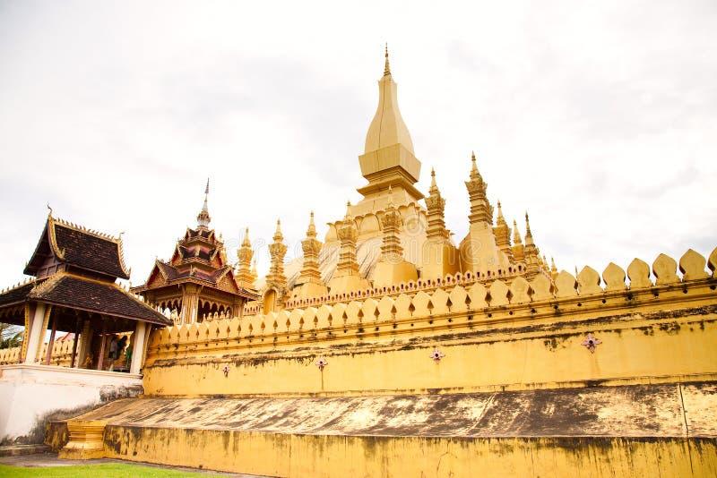 Wat Pha-That Luang Royalty Free Stock Image