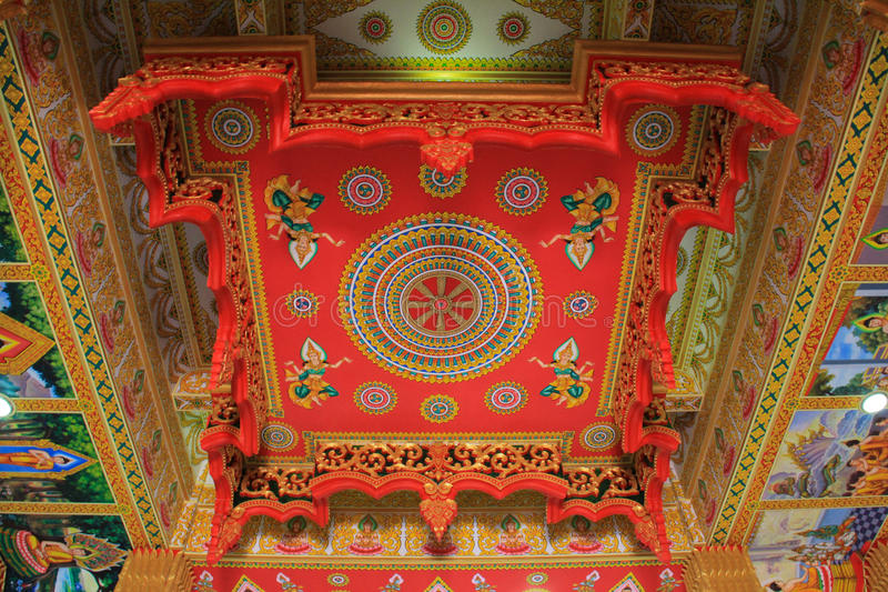 Wat pha-que luang, Laos imagen de archivo