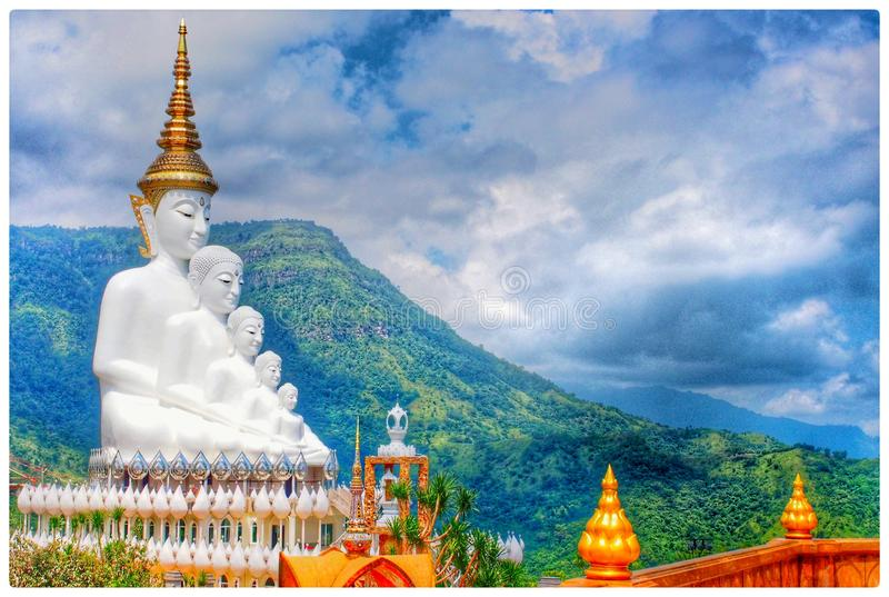 Wat Pha Sorn Kaew stock images