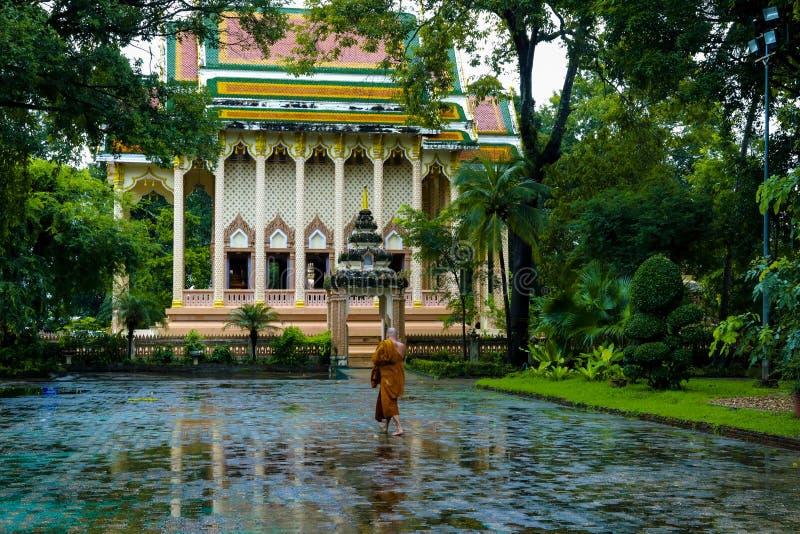 Wat Pha Suttawas localizó en Dong Mafai, Mueang Sakon Nakhon Dist imagen de archivo