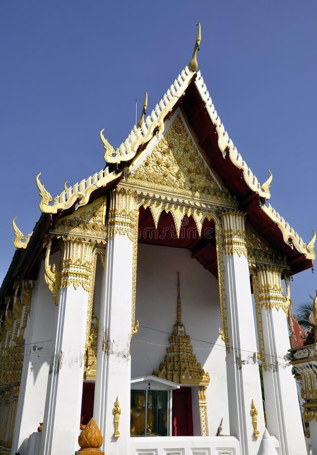 Peaceful temple Wat Phai Lom royalty free stock photos