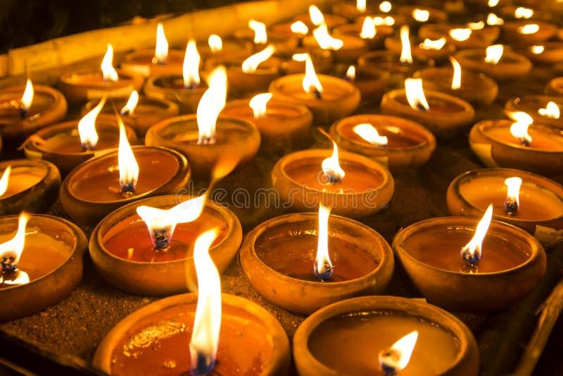 Wat Phan Tao, Chiangmai, Tailandia imagen de archivo