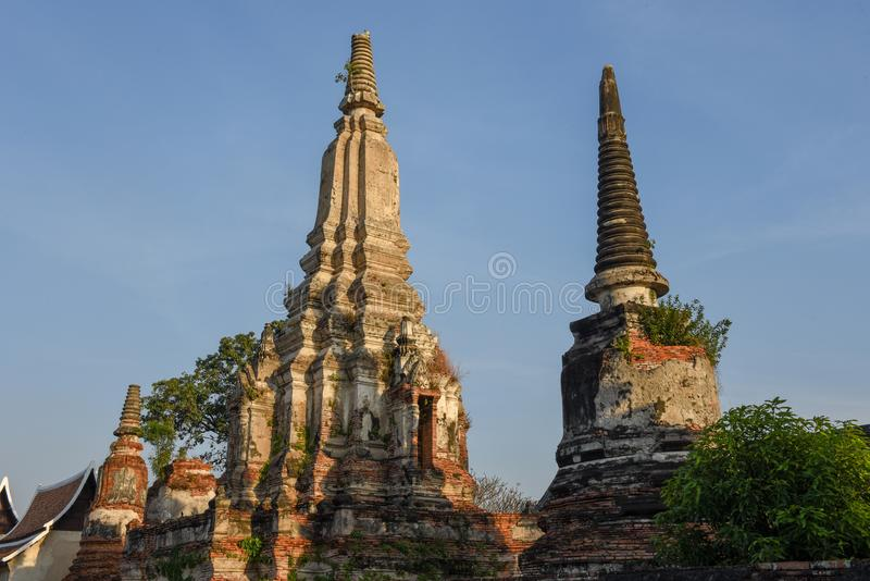 Wat Phanan Choeng temple in Ayutthaya, Thailand. Wat Phanan Choeng temple in Ayutthaya on Thailand stock image