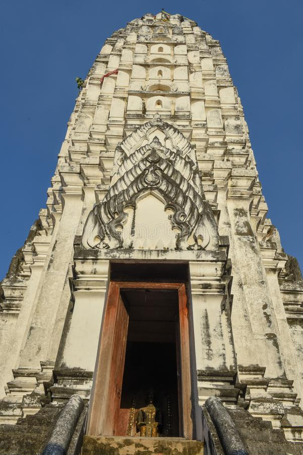 Wat Phanan Choeng temple in Ayutthaya, Thailand. Wat Phanan Choeng temple in Ayutthaya on Thailand stock photography