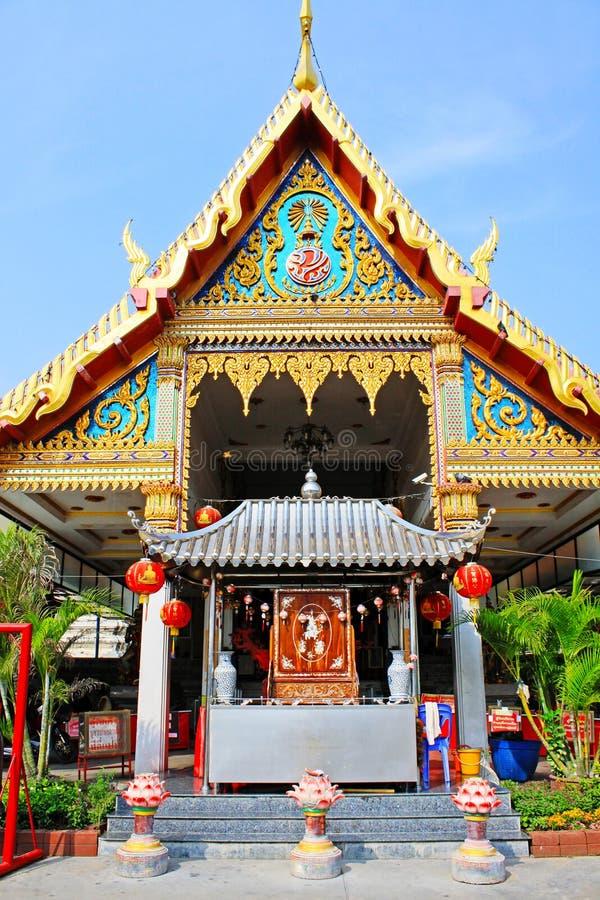 Wat Phanan Choeng Worawihan, Ayutthaya, Thailand. Wat Phanan Choeng is a Buddhist temple in the city of Ayutthaya, Thailand. Built in 1324, some 26 years before stock photos
