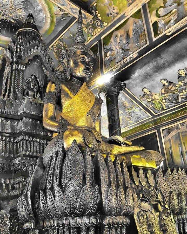Wat Phanom Cambodia arkivbilder