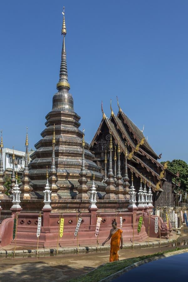Wat Phantao - Chiang Mai - Thailand royalty free stock photo