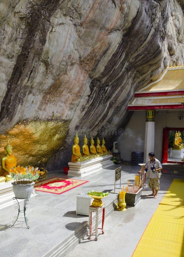 Wat Phar Phutthachai Temple Saraburi-Provincie Thailand royalty-vrije stock foto