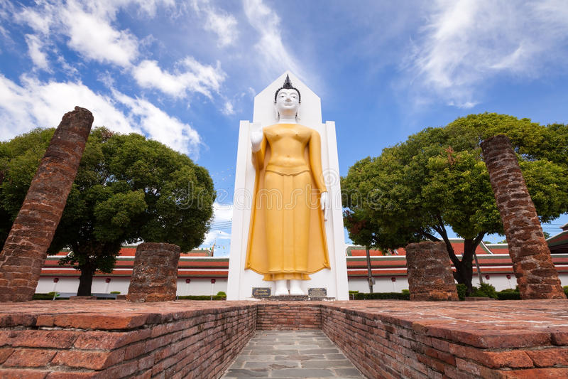Wat Phar Sri Rattana Mahathat Tempel, Phitsanulok in Thailand lizenzfreies stockfoto