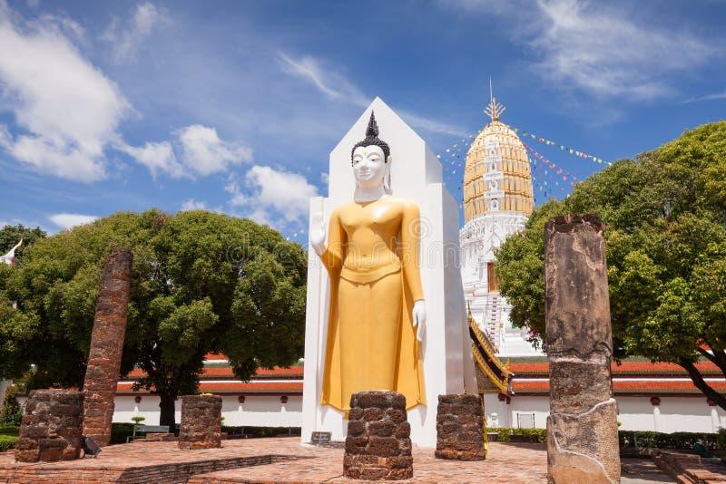 Wat Phar Sri Rattana Mahathat Tempel, Phitsanulok in Thailand stockfotografie